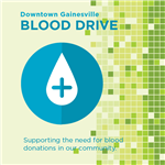 Blood Drive event graphic