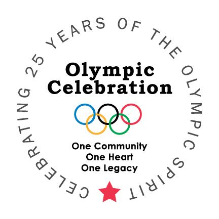 Event graphic for the Olympic Celebration
