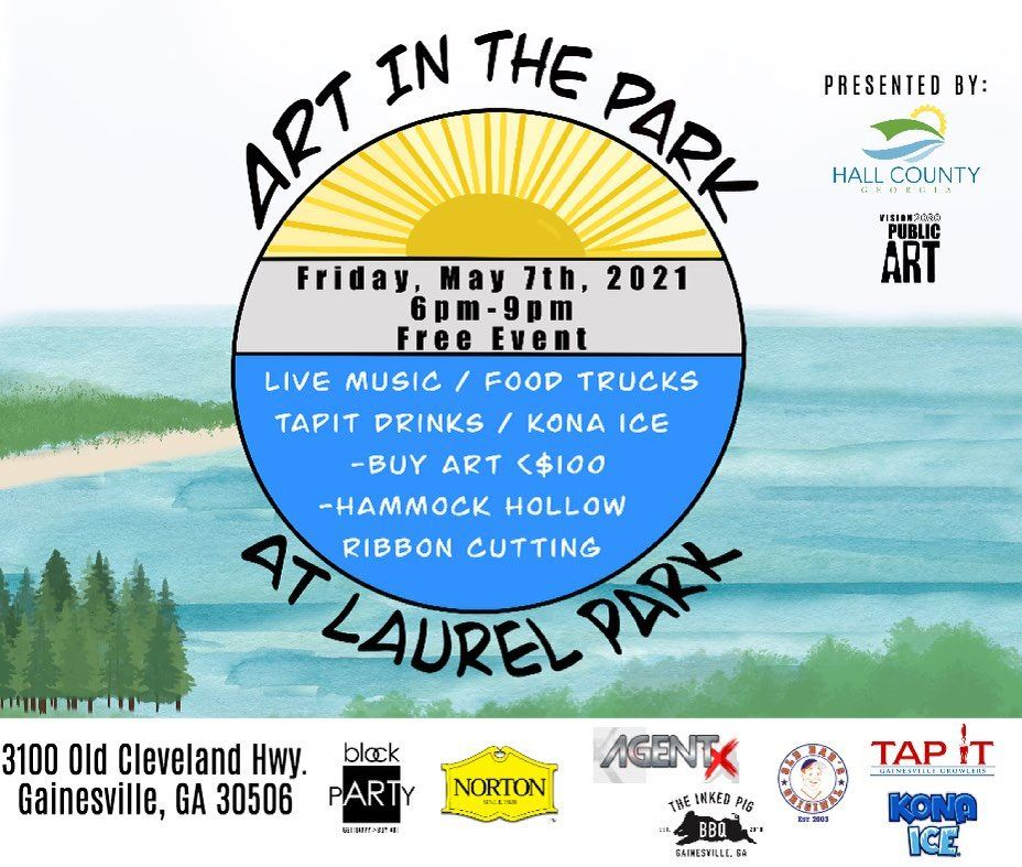 art in the park hall co 2021