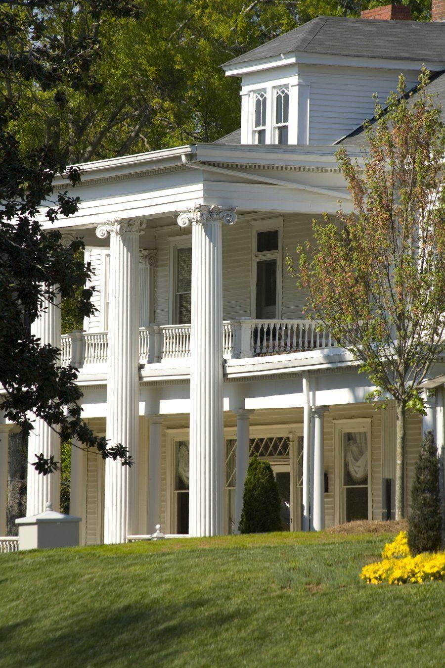 Big white house on Historic Green Street